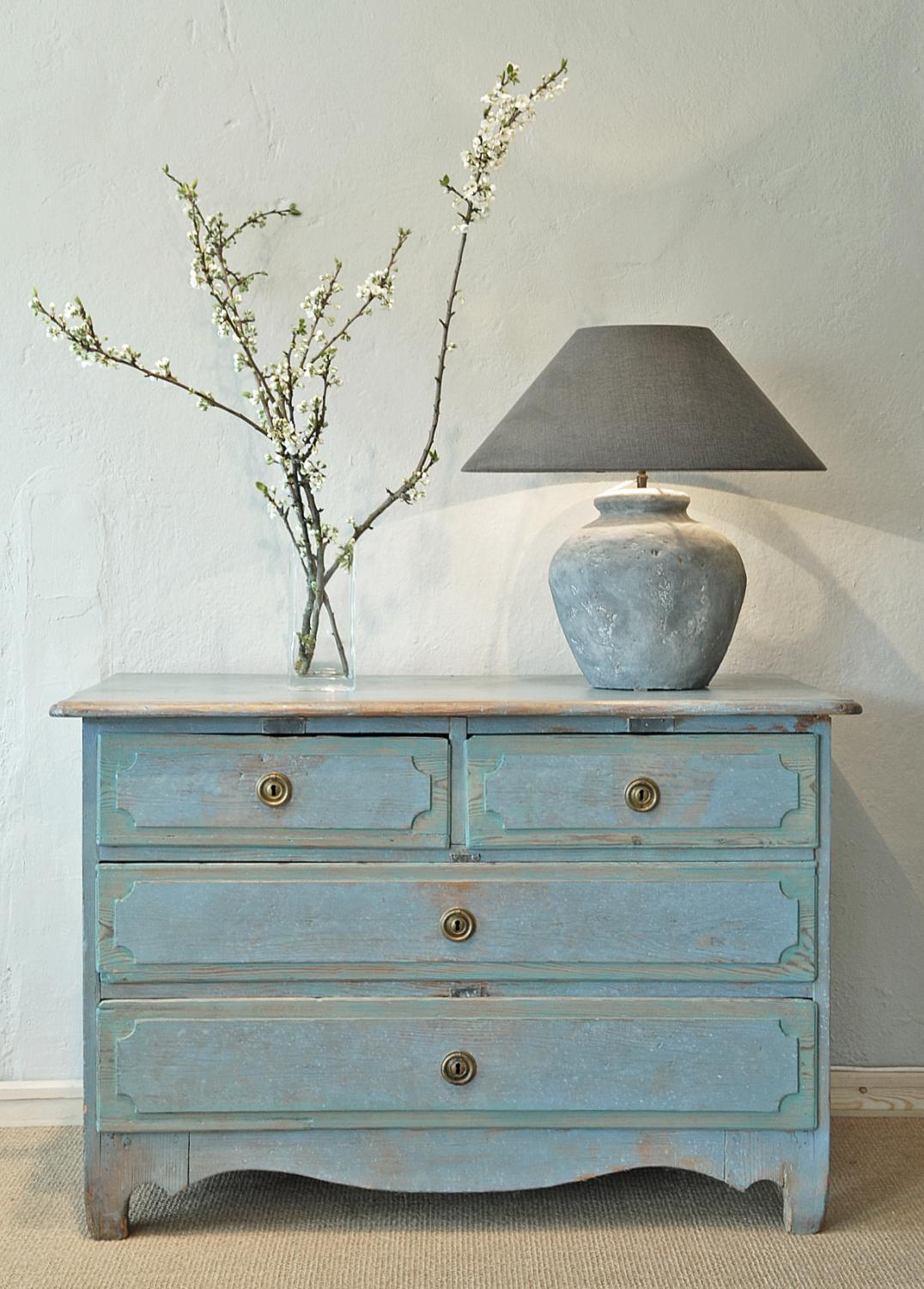 Early Gustavian  ca 1770 Swedish Chest