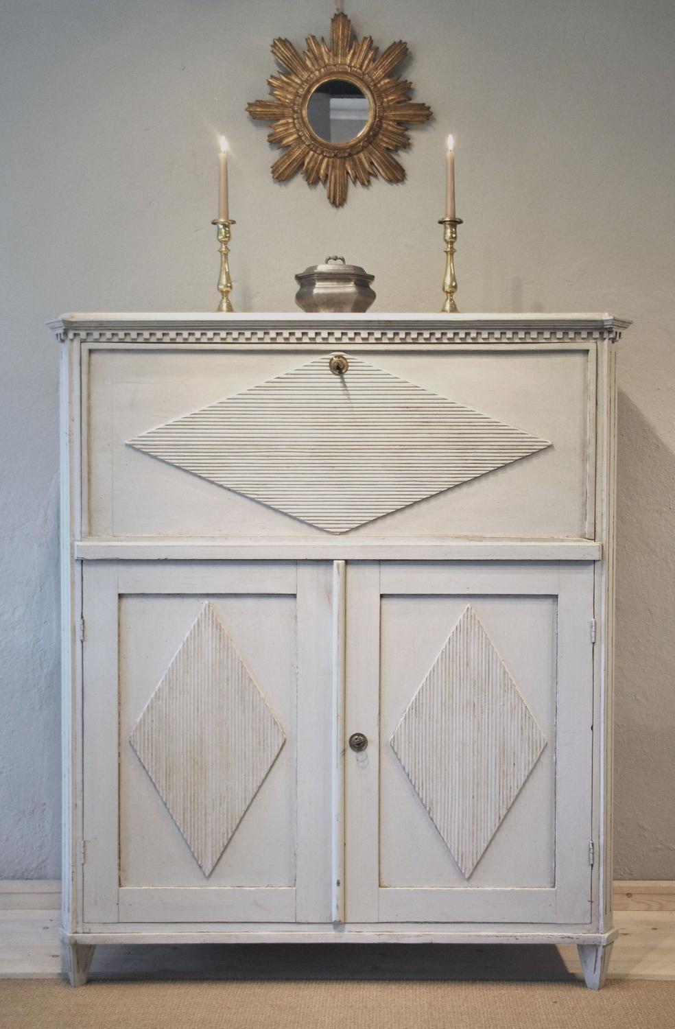 An Important late Gustavian  Secretaire