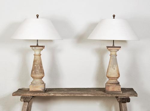 Pair of Impressive Table lamps