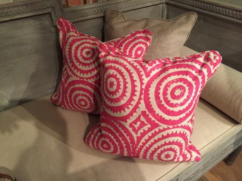 Pair of Chic Designers' Guild Cushions
