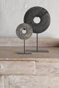 Chinese Marble Bi Discs on Steel stand - picture 2