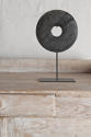 Chinese Marble Bi Discs on Steel stand - picture 3