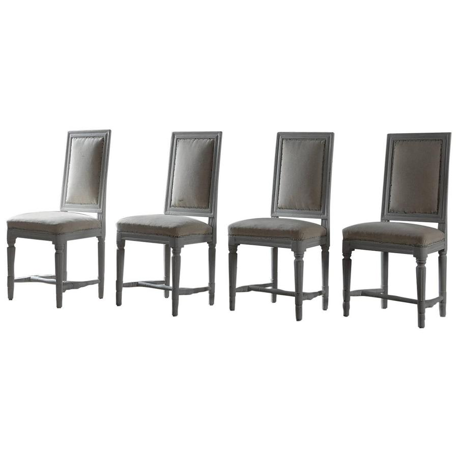 Set of Four Period Gustavian Dining Chairs
