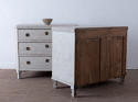 Pair of Elegant Gustavian Style 19th Century Chests of Drawers - picture 4