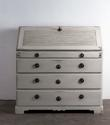Swedish Period Gustavian Secretaire with Reeded Front - picture 2