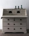 Swedish Period Gustavian Secretaire with Reeded Front - picture 3