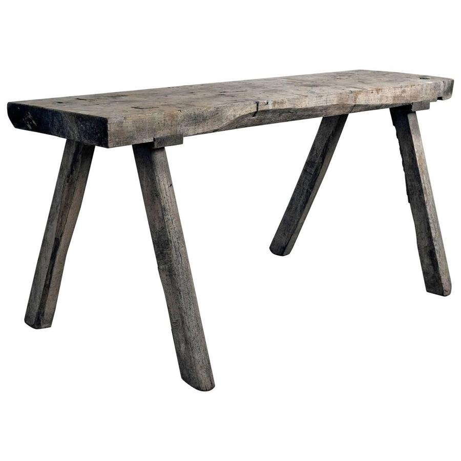19th Century Wabi Sabi Farmhouse Table