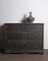 Late Gustavian chest in black paint - picture 3