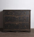 Late Gustavian chest in black paint - picture 4