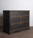 Late Gustavian chest in black paint - picture 5