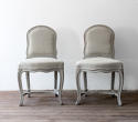 Pair of Unusual 18th Century French Louis XV Chairs - picture 2