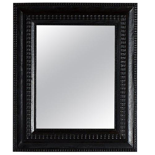 Flemish Baroque Mirror with Old Mirror Plate
