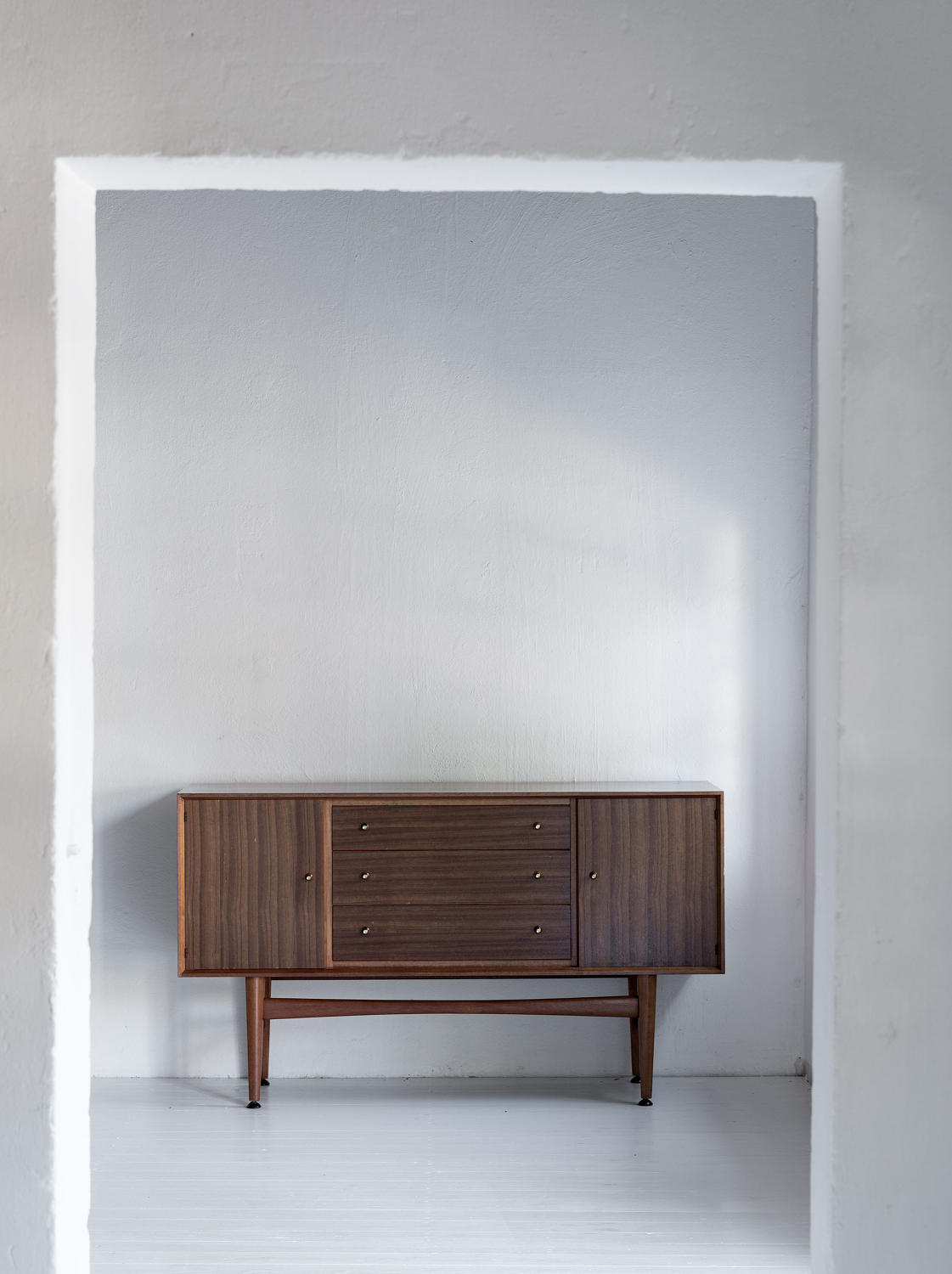 Beautiful rare sideboard by Gordon Russell in teak.