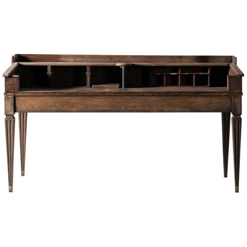Rare Large Northern Country House Desk
