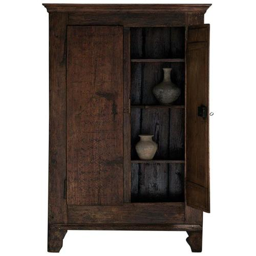 Outstanding 18th Century Northern Italian Cabinet with Remains of Orig